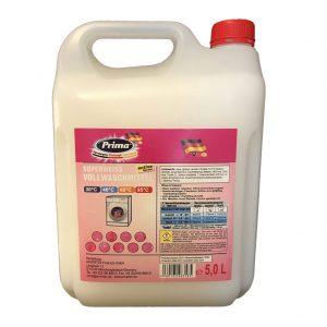 PRIMA SUPER-Weiss Vollwaschmittel flüssig im 5-Liter Kanister