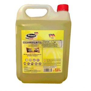 PRIMA Spülmittel Zitrone im 5liter-Kanister