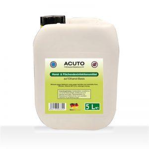 Acuto Hand- und Flächendesinfektion 5 Liter Kanister
