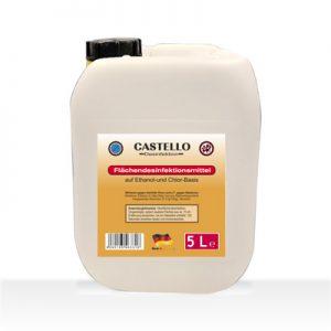 Castello Flächendesinfektion 5 Liter Kanister
