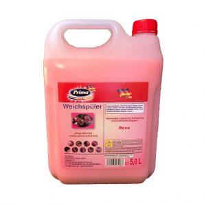 PRIMA Flüssig Weichspüler Rose im 5L-Kanister mit gratis Ausgießer