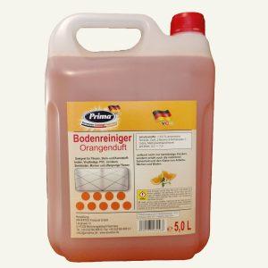 PRIMA Bodenreiniger Orangenduft Sofortreiniger im 5 Liter Kanister mit gratis Ausgießer